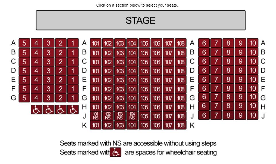 Seating & Pricing